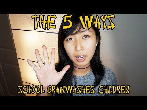 5 WAYS PUBLIC SCHOOL BRAINWASHES CHILDREN