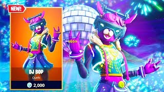 New *FEMALE* DJ YONDER SKIN in Fortnite.. (DJ BOP GAMEPLAY)