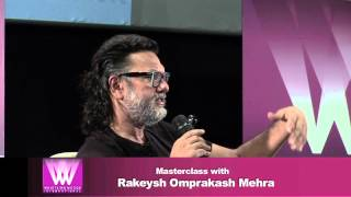 Session with Rakeysh Omprakash Mehra about ''Editing' | Whistling Woods International