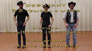 EASY MONEY Line Dance - danse et compte