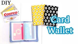 카드지갑 만들기 / make a card wallet …