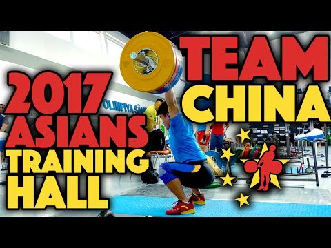 Team China - 2017 Asians Training Hall (April 24th)