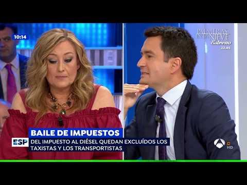 Pablo Gimeno critica la subida de impuestos en Espejo Público