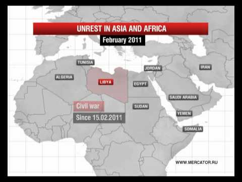 Unrest in Asia and Africa
