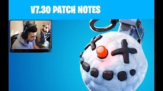 Mythe réagit à Fortnite Patch Notes V7.30