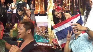 Miss Global Thailand 2018 Phanfilm Phamolchanok, pinagkaguluhan ng ilang Pinoy fans
