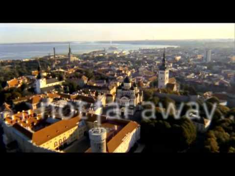 Tallinna, vilkas pääkaupunki keskiaikaisella sydämellä