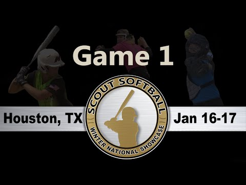 Scout Softball - 2016 Winter Nationals - Houston, TX - Game 1