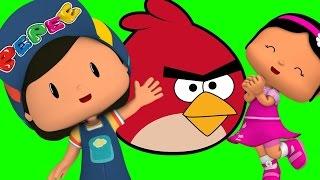 Pepee Çizgi Filmi Boyama Oyunu - Pepee ve Şila İle Renkleri Öğrenelim