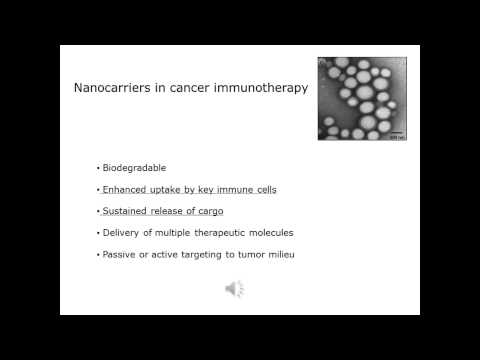 Nanoparticle immunotherapy in cancer - Video abstract 62471