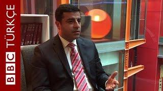 Demirtaş: Sırtımızı PKK'ye dayamıyoruz - BBC TÜRKÇE