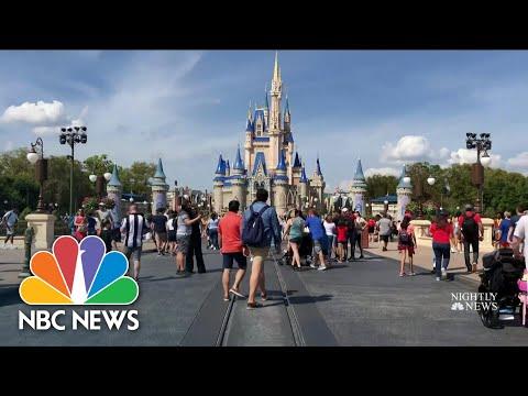 Disney World To Shut Down Over Coronavirus Concerns   NBC Nightly News