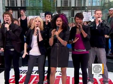 Cast sings '21 Guns' on CBS The Early