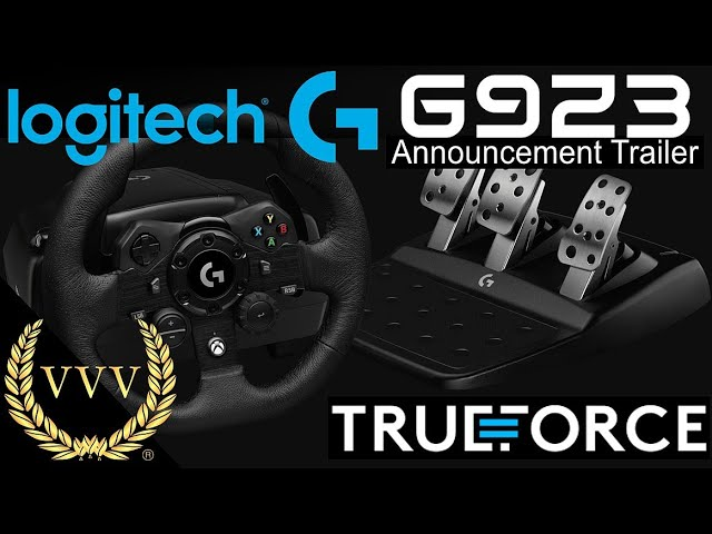 Logitech G923 reveal and chat