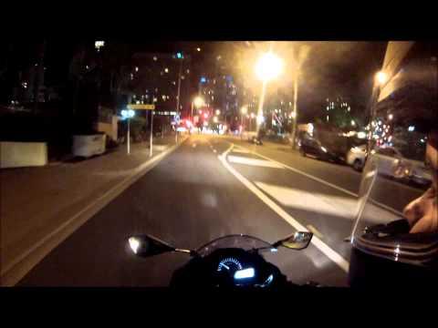 Kawasaki Ninja 300 - Evening Cruise at Surfers Paradise