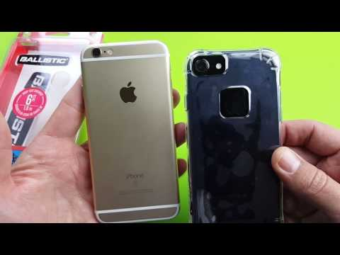 Ballistic Case that fits iPhone 6, 6s, & 7: Jewel Ice Series Ultra Slim Clear Case