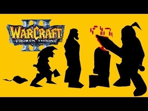 Эволюция Видов в Warcraft 3