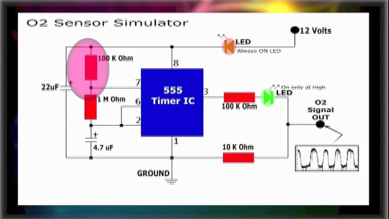 1996 Jeep Cherokee Ignition Wiring Schematic O2 Sensor Simulator Youtube