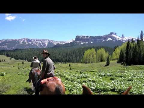Trail Ride with Tenderfoot Outfitters, Colorado USA