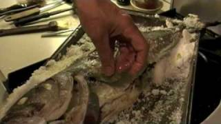 Mike Monahan Presents: How To Cook A Kosher Salt Roasted Whole Bluefish
