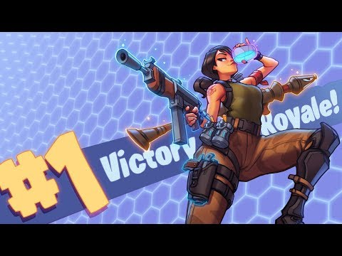 *NEW WEAPONS* AMAZING VICTORY ROYALE + [BLUE PUMP + GREY TAC] - FORTNITE BR .