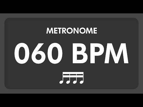 60 BPM  Metronome  16th Notes