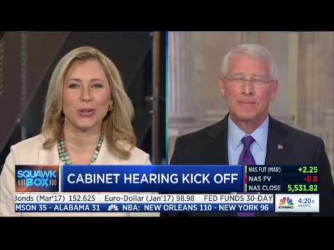 Senator Roger Wicker On CNBC On January 10, 2017 l Roger Wicker For Senate