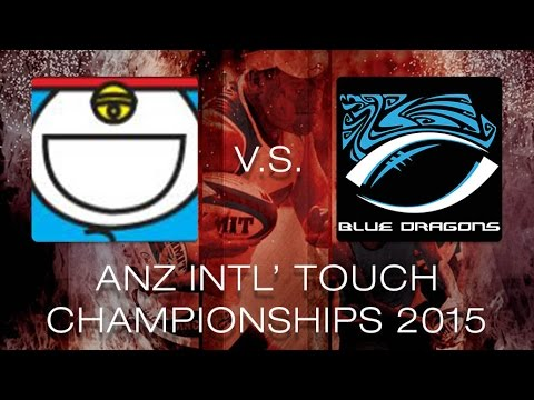 ANZ Intercities 2015 - Men's Open - Loxl vs. HK Blue Dragons