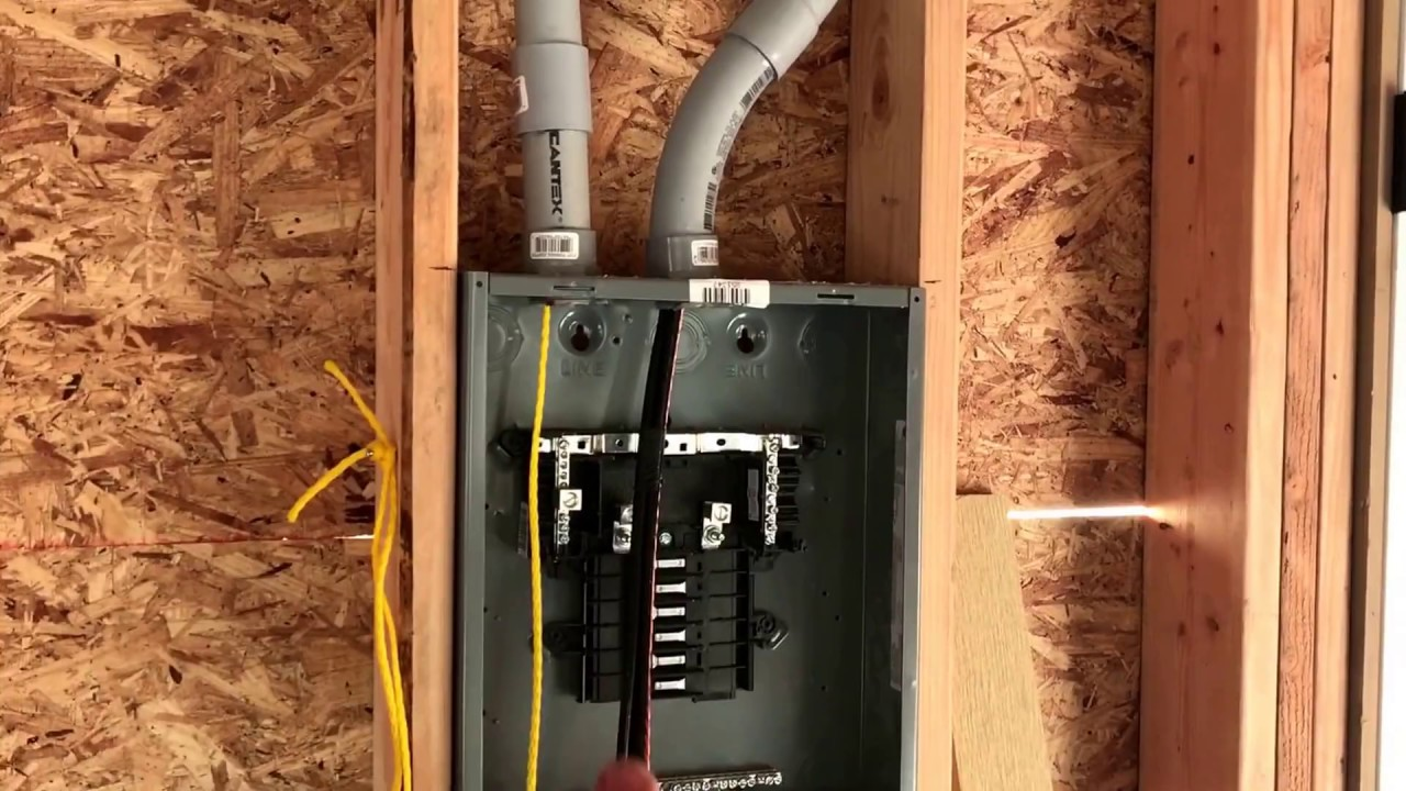 Starting Electrical Rough In - YouTube