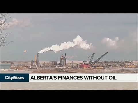 Alberta's finances without oil and gas revenue
