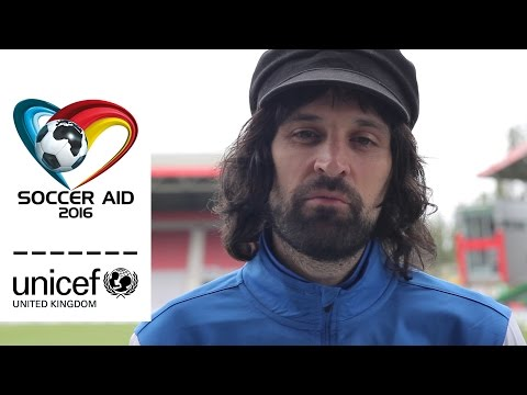 Soccer Aid 2016 | Thank you from Serge Pizzorno