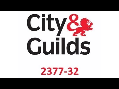 Pat Testing City & Guilds Level 3 2377 Tutorial UK Language