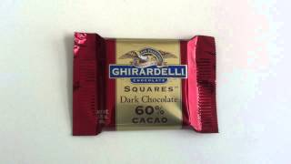 Ghiradelli Squares Dark Chocolate 60% Cacao Review