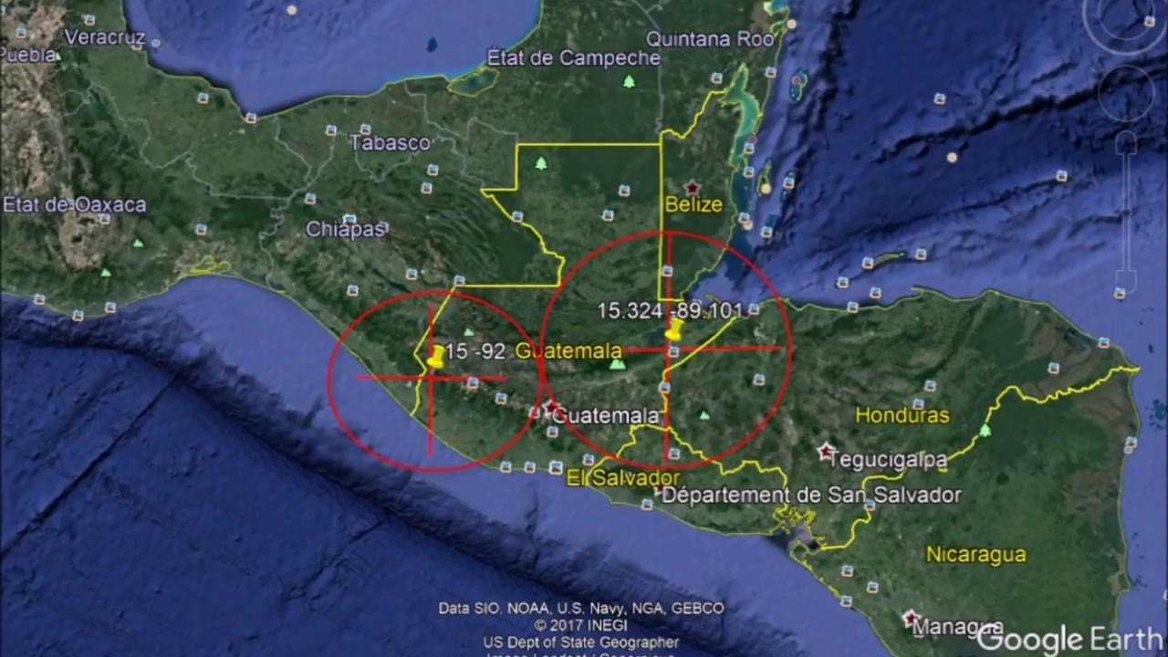 Probabilidad De Otro Terremoto En Guatemala Septiembre Diciembre 2017 Youtube