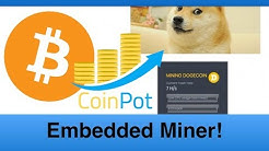 How to  embed a miner & make Bitcoin from your website