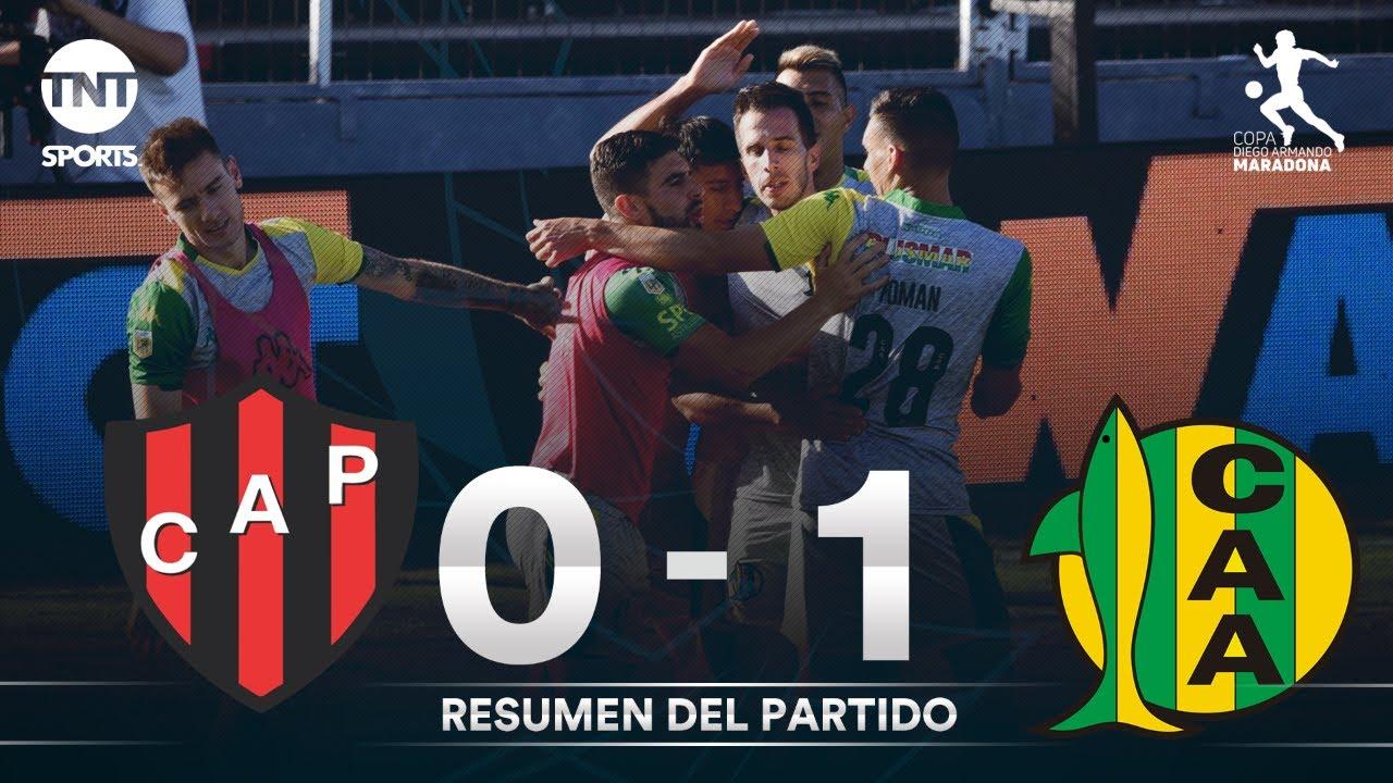 Resumen de Patronato vs Aldosivi (0-1) | Fecha 2 Grupo A - Fase Complementación Copa Diego