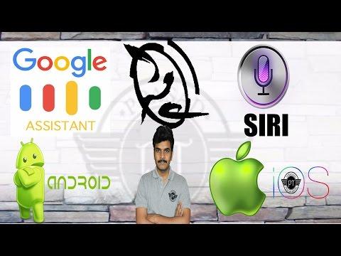 SIRI VS GOOGLE ASSISTANT Fight Ll In Telugu Ll By Prasad Ll