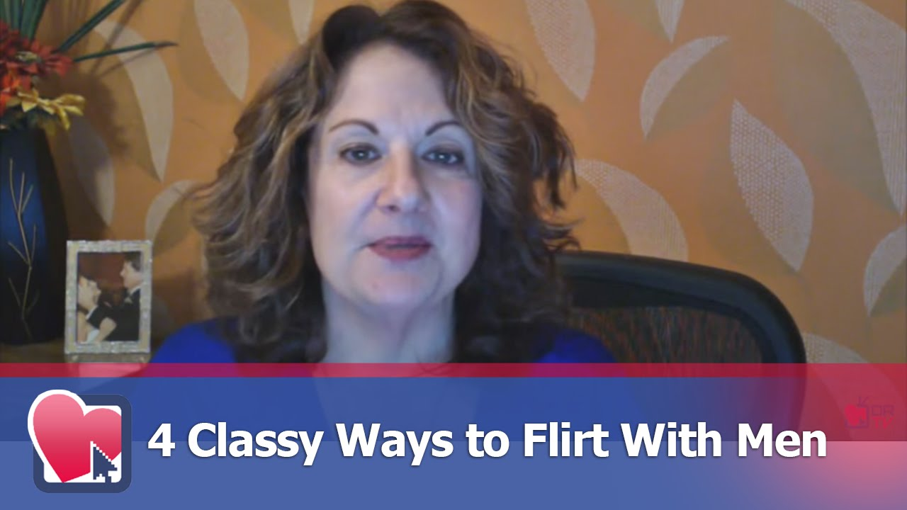 How to be a classy flirt