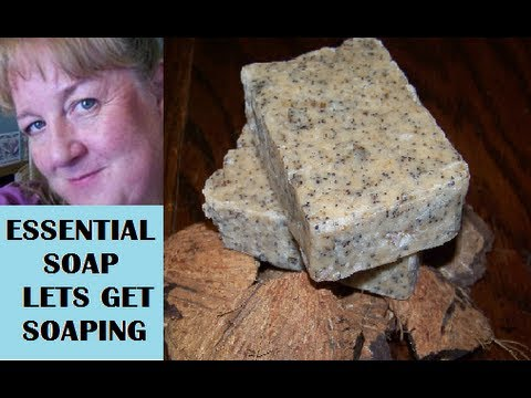 How to Make Natural Coconut Milk Soap. Named for my son