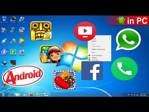 Free software to run android apps on windows 7 laptop