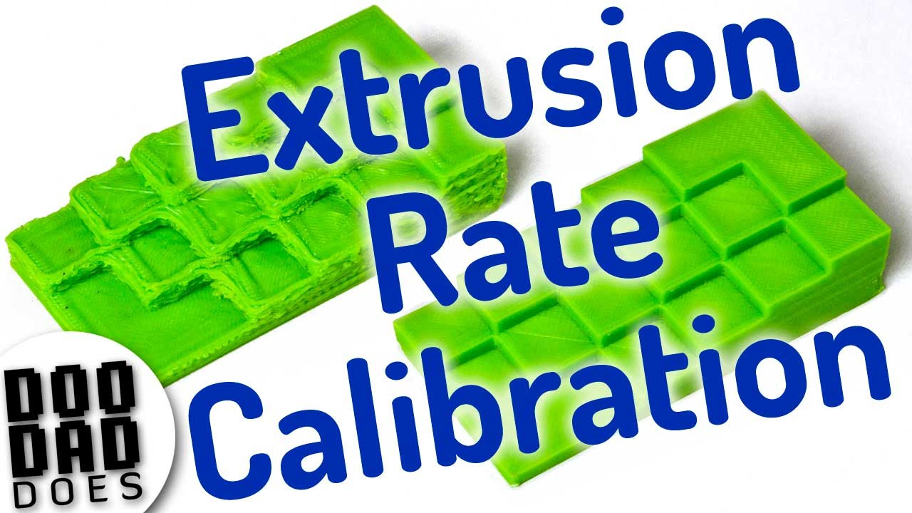 Troubleshooting 3d Prints Calibrate Extrusion Rate - YouTube