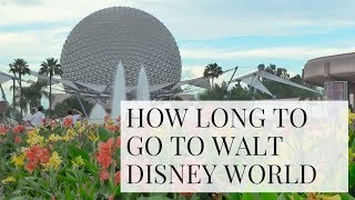 How Long to Stay at Disney World