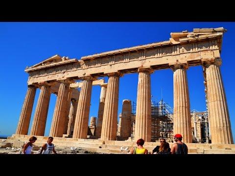 akropolis-athen,-altstadt-plaka---griechenland-urlaub