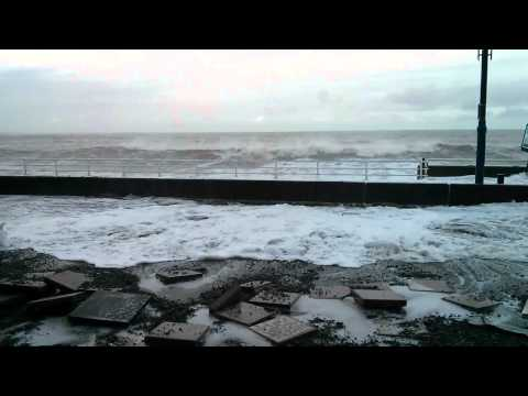 Aberystwyth Promenade 4 Jan 2014
