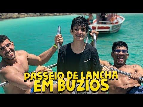 PASSEIO DE LANCHA EM BÚZIOS  VLOG 121
