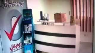 شرح توصيل الDVR  بالانترنت لمشاهدة كاميرات المراقبة من بعد  Yes-Original