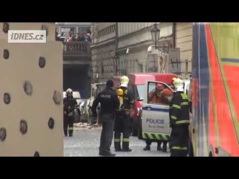 Powerful explosion occurred in the center of Prague
