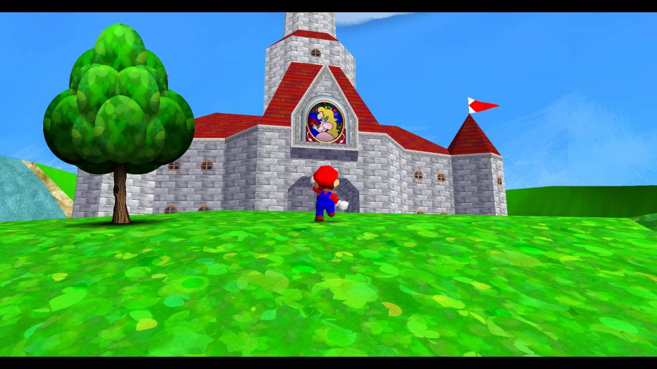 Super Mario 64 HD Texture Pack