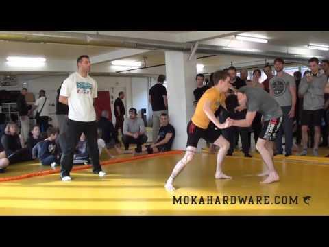DGL 1 Runde 2016 Ibrahim Bagakashvili Frederikssund Free Fight (ShootersMMA) vs Matti Bomstærk SIAM