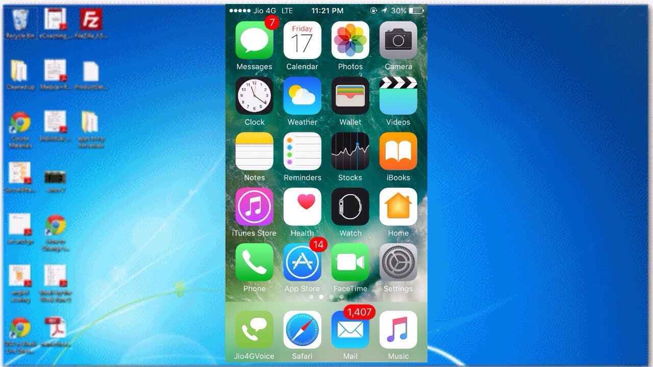 How To Get iPhone Screen on PC/Laptop 2017